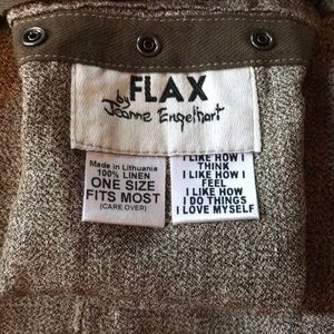 Flax wrap linen maxi skit